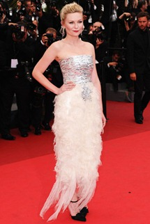 64th cannes film festival kirsten dunst chanel couture