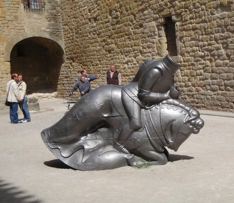 Scuplture in Carcassonne