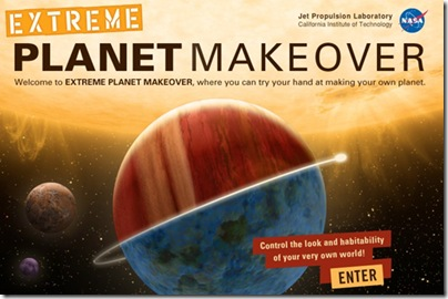 Make your own virtual planet