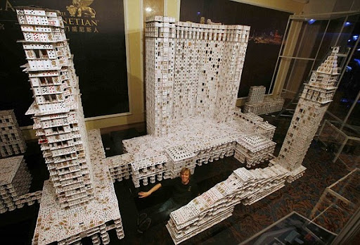 bayou renaissance man worlds biggest house of cards - Biggest House In The World Inside
