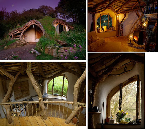 Bayou Renaissance Man: A hobbit house for real!