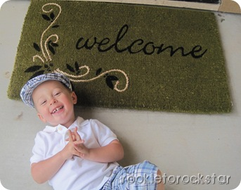 Cooper Welcome Mat