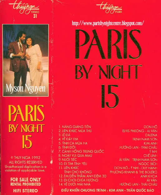 Paris By Night 15 DVD ISO