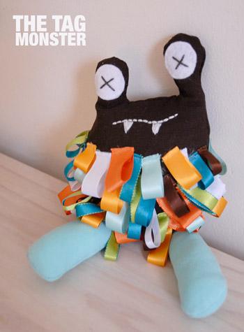 Tag Monster by Crafty Shmafty