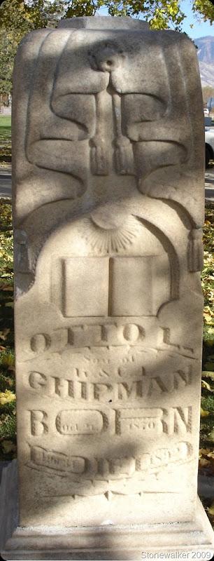 Otto L Chipman tombstone