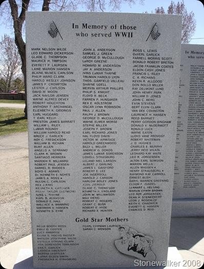 AF Cemetery WWII Veterans Memorial 2