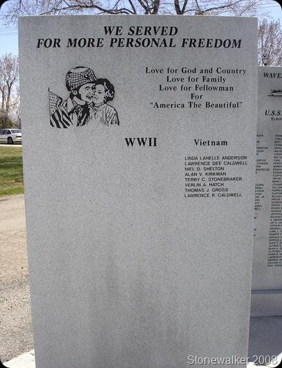 AF Cemetery Vietnam Veterans Memorial