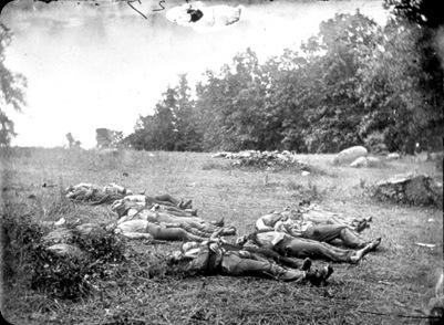 Confederate Dead Gettysburg