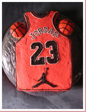 The Cake Lady Michael Jordan Cake