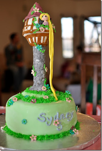 rapunzel cake ideas