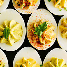 Greek Yogurt Deviled Eggs
