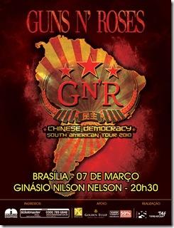 Guns n Roses Brasilia