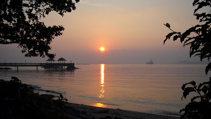 Sunrise over Ubin