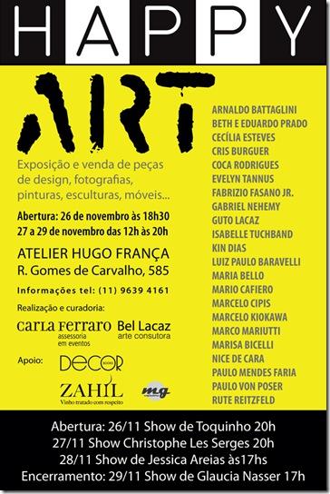Happy Art  Convite Eletronico