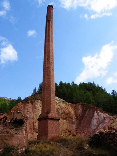 Yesos de la Tejera, Montalbán, Teruel