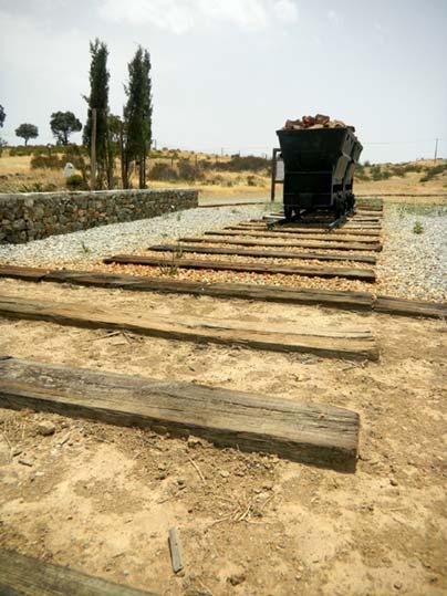 Monumento al ferrocarril minero Sao Domingos-Pomarao