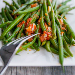 French Beans With Garlic And Tomato Recipes