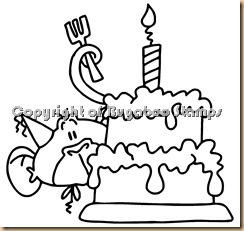 monkey bday cake