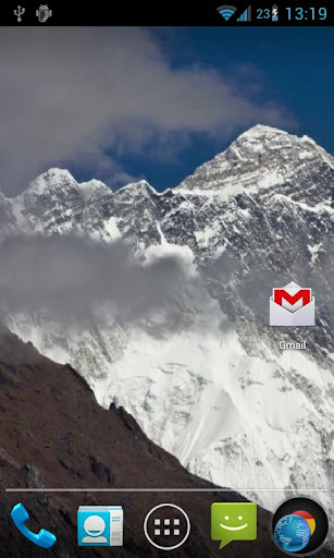 玩個人化App|Mountain Clouds Live Wallpaper免費|APP試玩