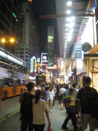 Mong Kok at night