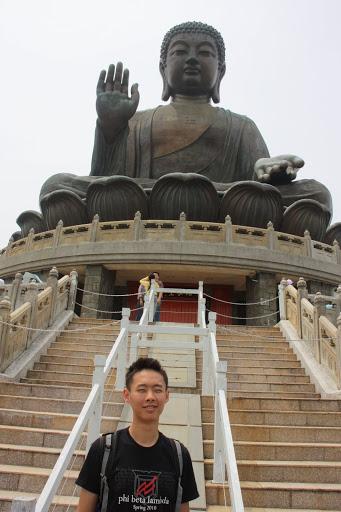 Giant Budda on Lantau Island