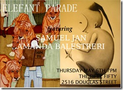 ELEFANT PARADE FLYER