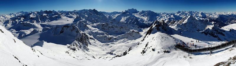 Le Mont Fort à Verbier en Valais - Suisse