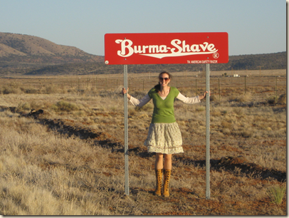 me and burma shave shrunk