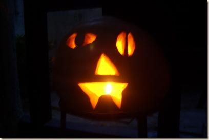 our jack o lantern