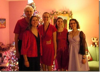 Family Christmas picture cropped