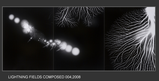 Lightning Fields Composed 004 - Hiroshi Sugimoto