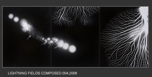 Lightning Fields Composed 004 - Hiroshi Sugimoto