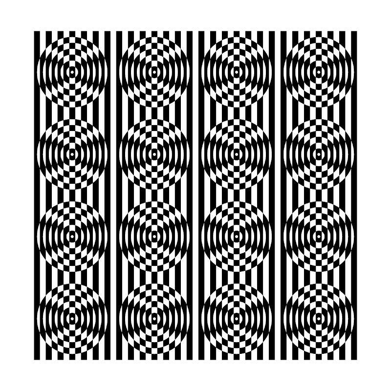 Monochrome Panton Pattern