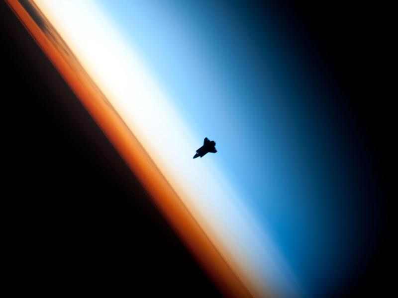 NASA: Shuttle Silhouette