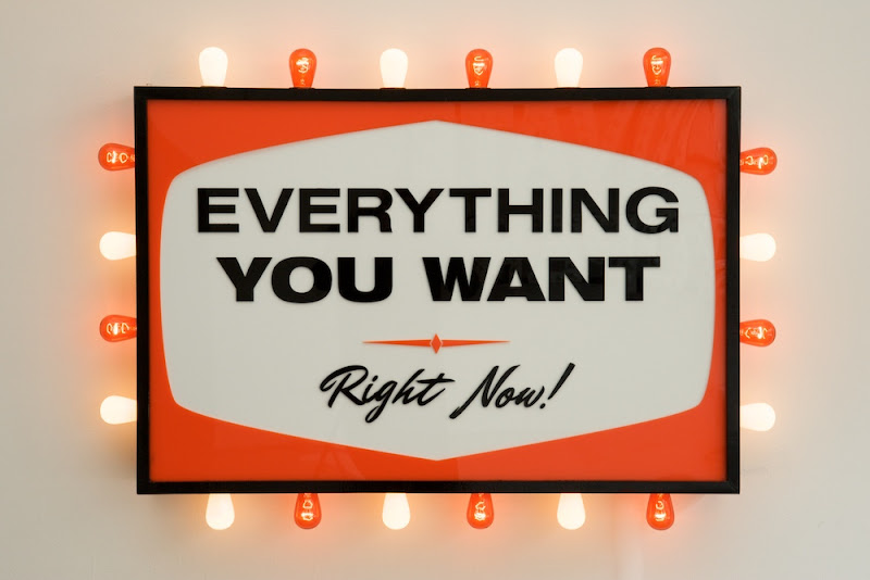 Steve Lambert » Everything You Want, Right Now!