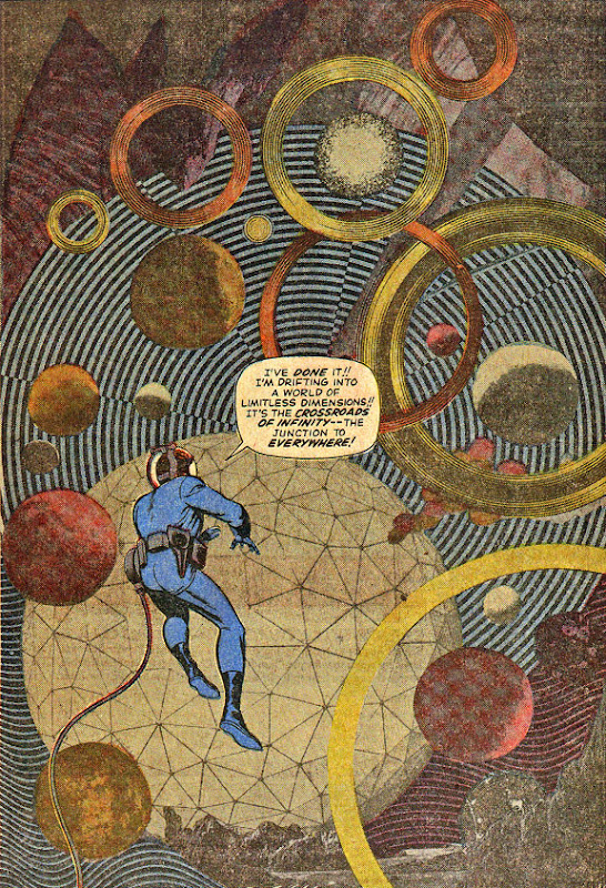 Jack Kirby's Experimental Photo Collage