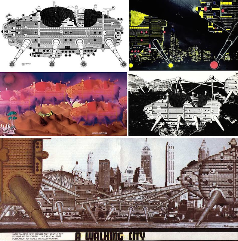 Archigram » Ron Herron » The Walking City