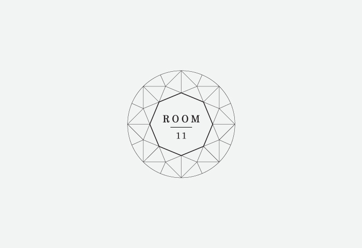 Room 11 identity by Southsouthwest