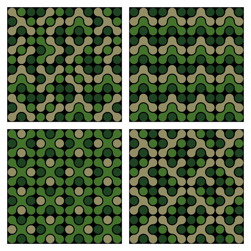 Funky Camouflage Pattern