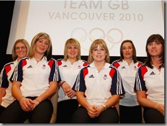 WInter olympics GB Curling Women Team