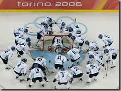 Winter Olympics Ice Hockey