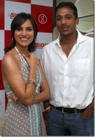 Lara Dutta and tennis player Mahesh Bhupati are couple.
