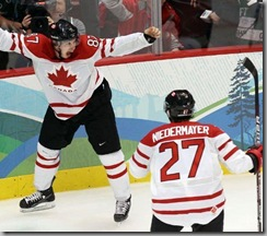 Sideny Crosby-Canada- Ice Hockey-Men's Gold Medal