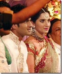 Sania Mirza Wedding reception pakistan photos4