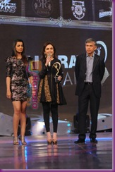 Mugdha Godse at IPL Awards in Mumbai