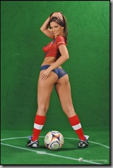 FIFA Girl Boady painting (4)