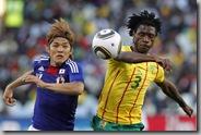 FIFA world cup 2010 Japan vsCameroon photos