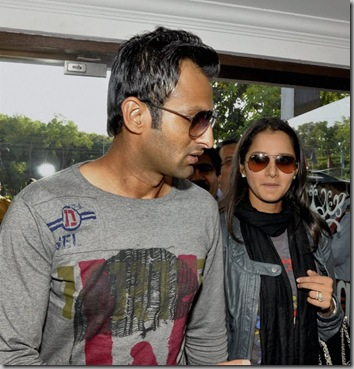 Sania, Shoaib Malik inaugurate tennis academy in Ranchi