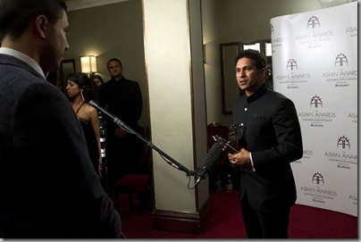 Sachin Tendulkar at The Asian Awards