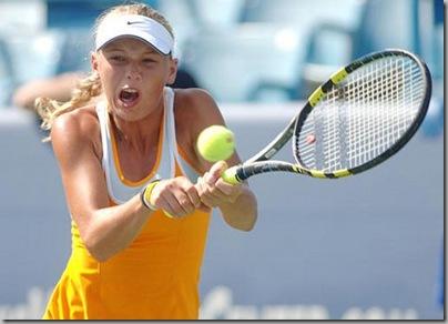 Caroline Wozniacki WTA Tour Championship No.1 3